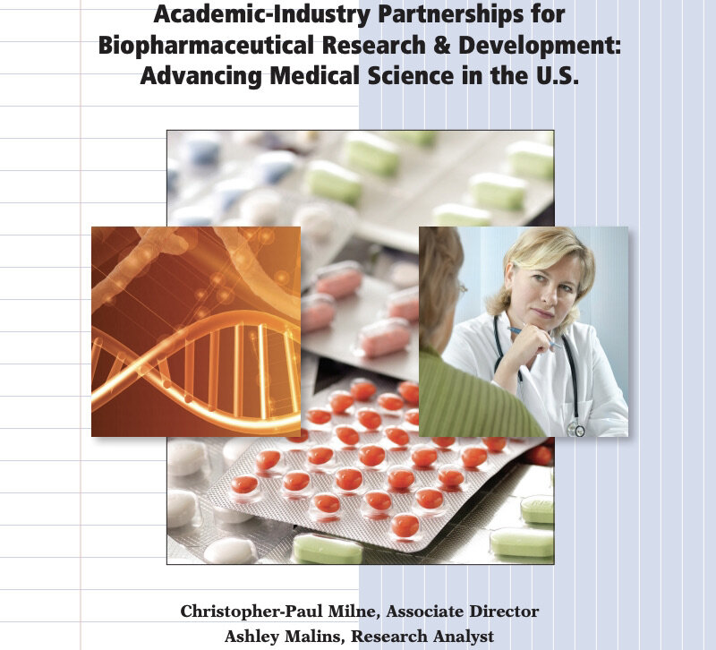 ACADEMIC-INDUSTRY PARTNERSHIPS FOR BIOPHARMACEUTICAL RESEARCH & DEVELOPMENT: ADVANCING MEDICAL SCIENCE IN THE U.S.