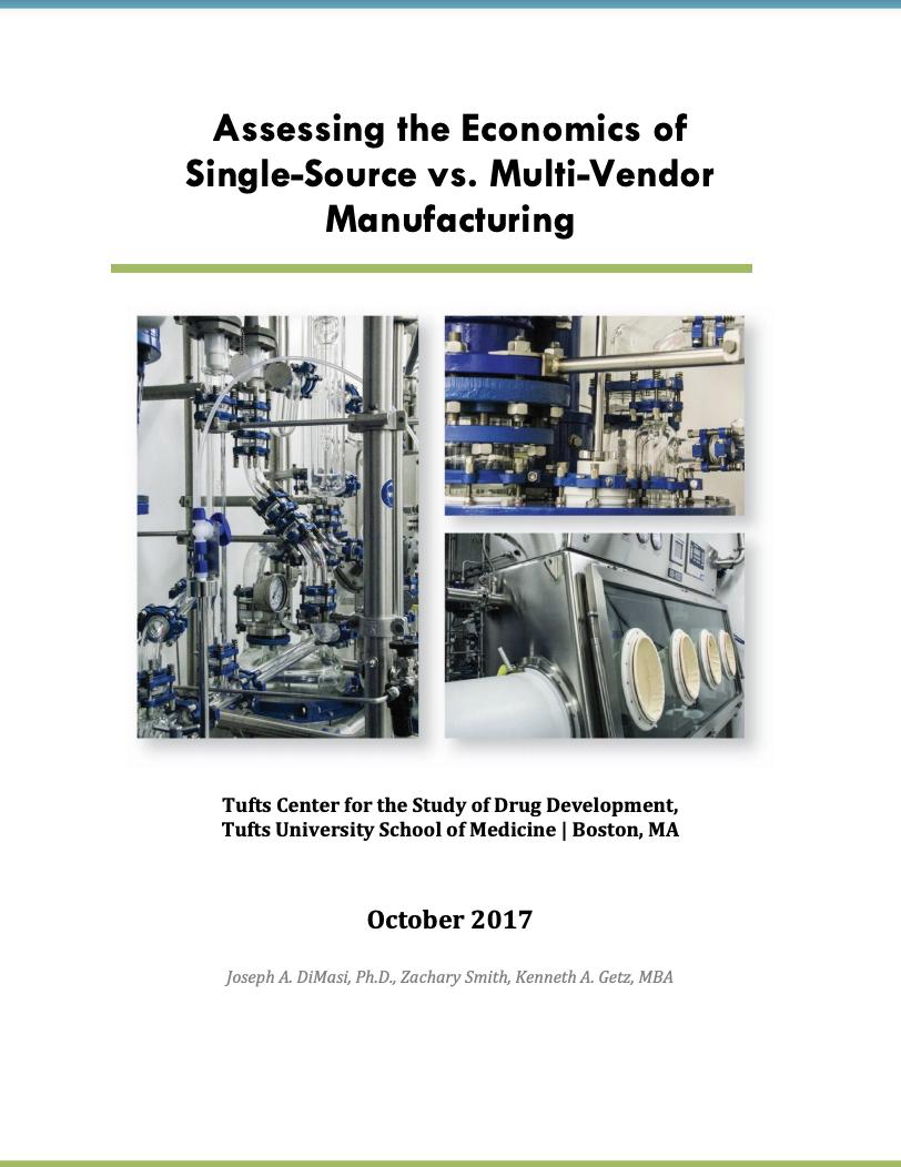 ASSESSING THE ECONOMICS OF SINGLE-SOURCE VS. MULTI-VENDOR MANUFACTURING
