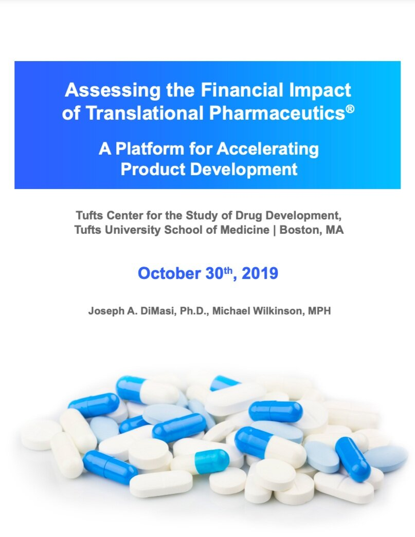 ASSESSING THE FINANCIAL IMPACT OF TRANSLATIONAL PHARMACEUTICS - A PLATFORM FOR ACCELERATING PRODUCT DEVELOPMENT