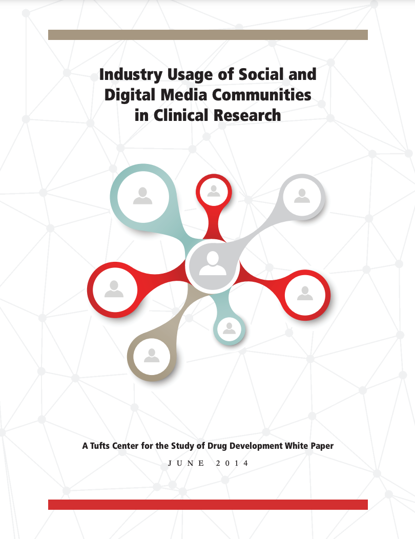 INDUSTRY+USAGE+OF+SOCIAL+AND+DIGITAL+MEDIA+COMMUNITIES+IN+CLINICAL+RESEARCH INDUSTRY USAGE OF SOCIAL AND DIGITAL MEDIA COMMUNITIES IN CLINICAL RESEARCH