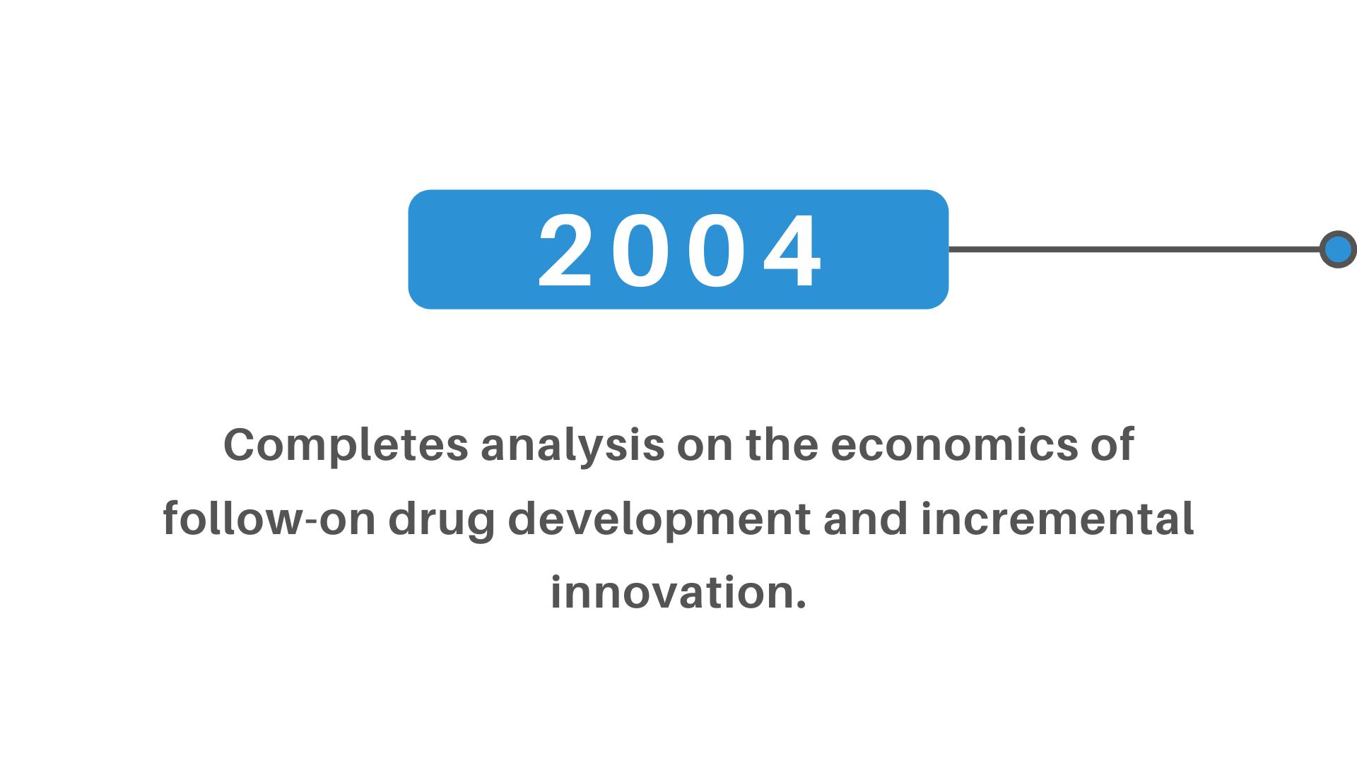 follow-on drug development incremental innovation