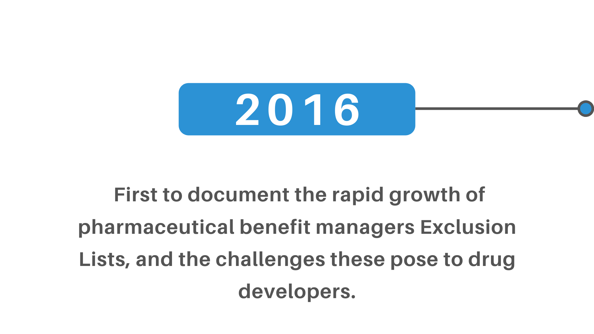 rapid growth pharmaceutical benefit managers exclusion lists drug developers